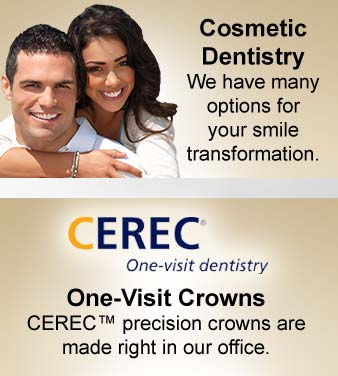 Cosmetic Dentistry - CEREC Dental Crowns Las Cruces NM